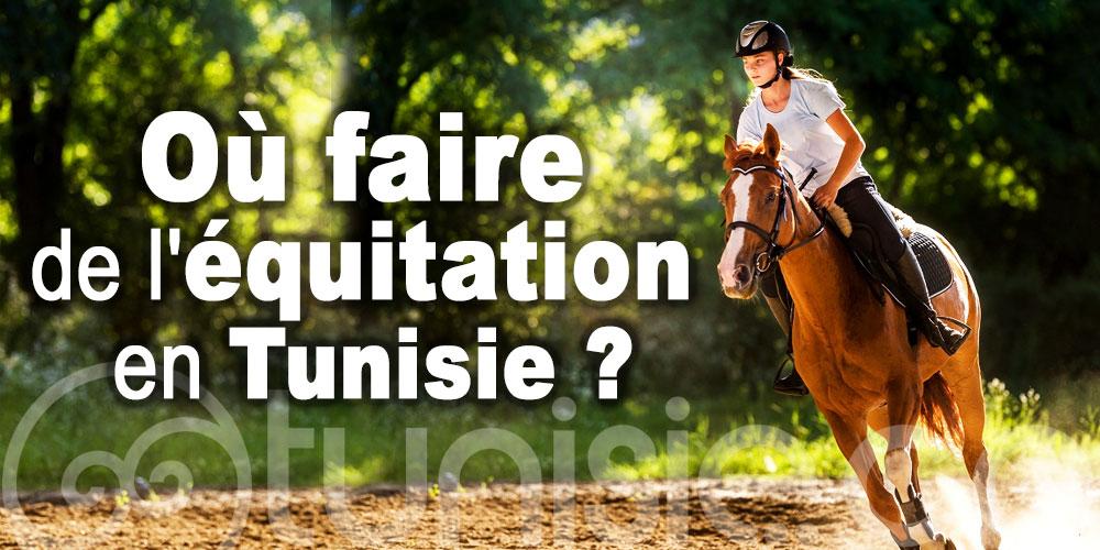Les centres équestre pour faire du cheval en Tunisie