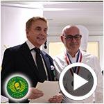 En vidéo : Erich Alauzen nommé délégué Culturel et Communication de l'Académie Nationale de Cuisine