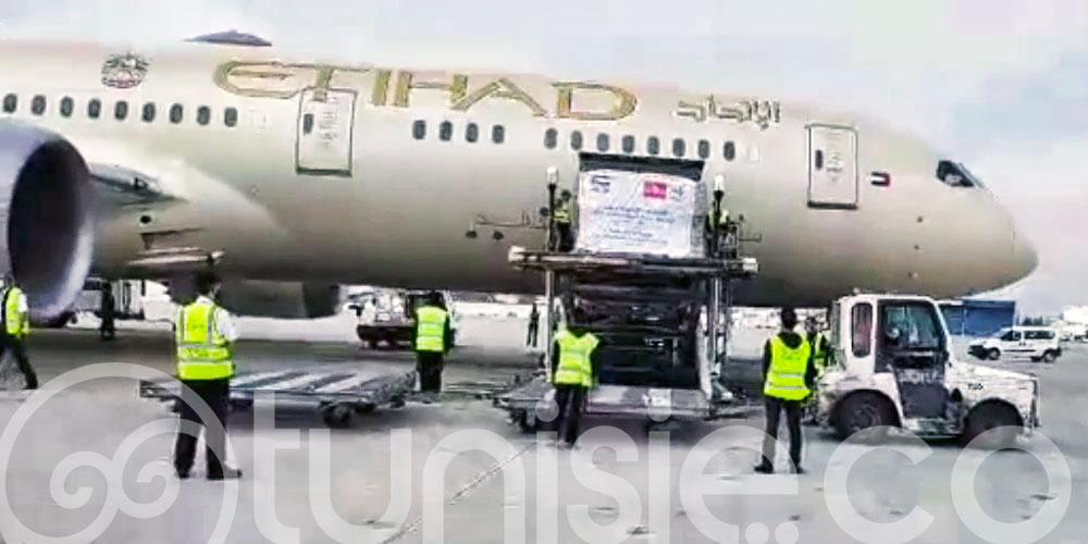 En vidéo : Pour la première fois un avion Etihad Airways atterrit à Tunis