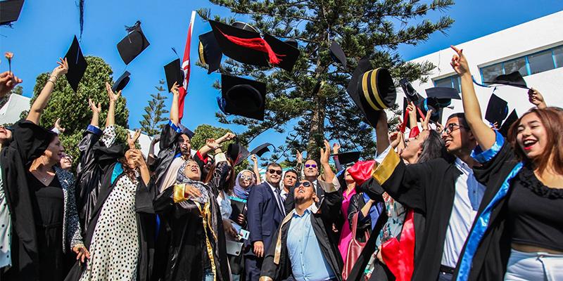 Hommage aux nouveaux diplômés de l'Institut supérieur de tourisme