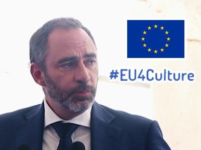 En vidéo : S.E.M. Patrice Bergamini présente la vision du partenariat avec l'Europe pour la Culture