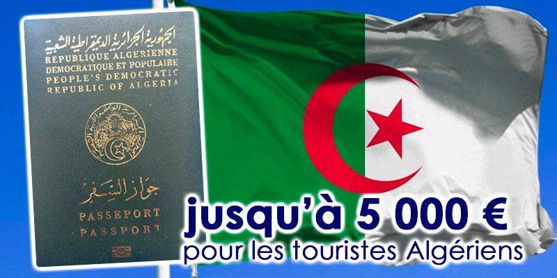 Les voyageurs Algériens autorisés à transporter jusqu'à 5 000 euros