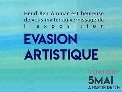 Vernissage de l'exposition 'Evasion Artistique' le 5 Mai à la galerie L'Art du Temps