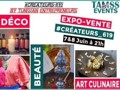 L'expo-vente #Créateurs_619, les 7 et 8 juin à El Manar I