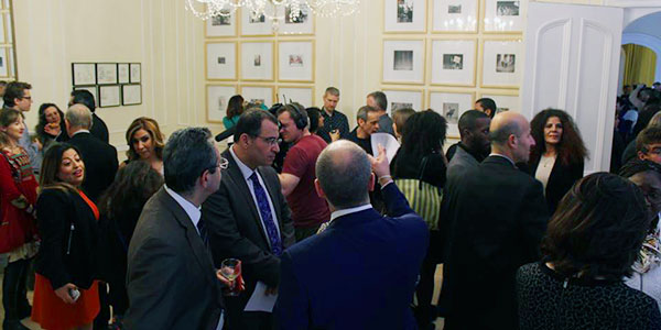 En photos : L'ambassade de Tunisie à Londres transformée par Selma Feriani en gallerie d'art
