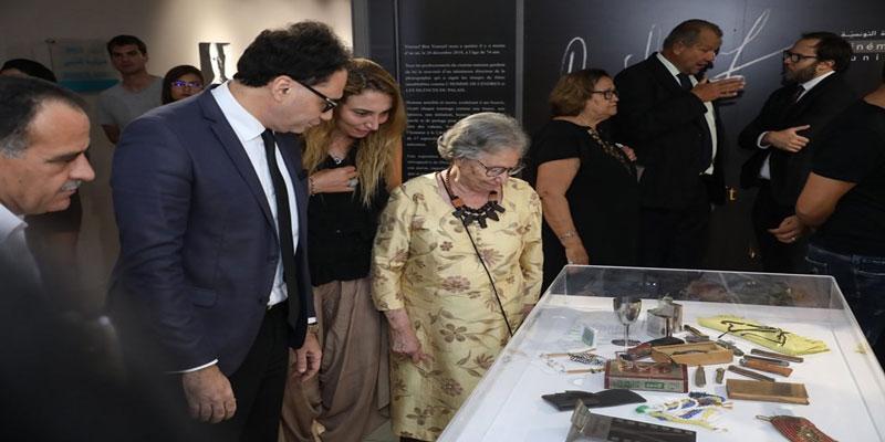 بالصور : افتتاح معرض يوسف بن يوسف، الرجل الضوء