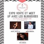 Expo-vente et meet up avec les blogueuses du 23 au 25 Septembre à Underground Events