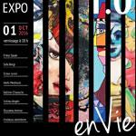 Vernissage de l'exposition En Vie le 1er Octobre à la galerie Alexandre Roubtzoff