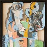 Expo de peinture de Jan Demeulemeester (Belgique) et Sybille Pfeiffer (Autriche)