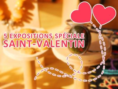 Profitez de ces expos pour acheter vos cadeaux Saint-Valentin