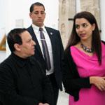 En vidéo : Le célèbre couturier franco-tunisien Azzedine Alaïa au musée du Bardo