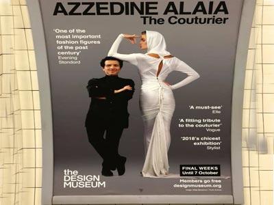 Londres rend hommage à Azzedine Alaïa avec une exposition au Musée du design