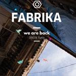 Festival de musique électronique Fabrika le 9 Septembre à Tunis