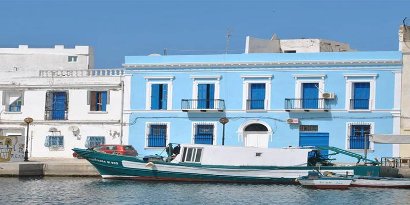 Bizerte : Une première façade colorée qui fait rêver