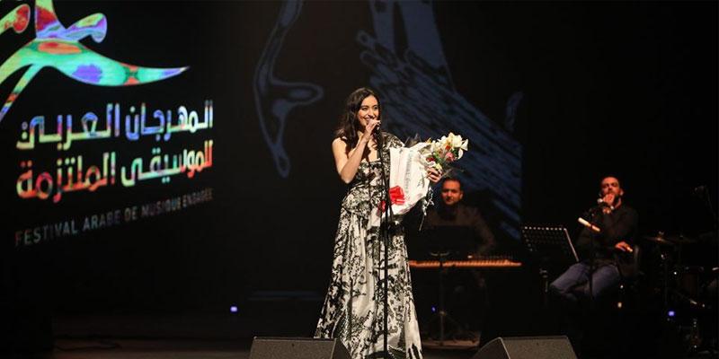 Faia Younan enflamme la foule au Festival Arabe de Musique Engagée