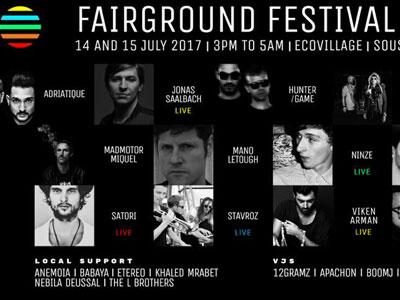 Le Fairground Festival à Sousse revient pour une deuxième édition !