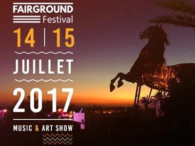 2ème édition du Fairground Festival les 14 et 15 Juillet à l'Ecovillage Sousse