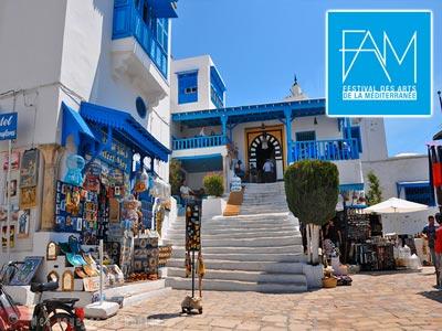 Le Festival des Arts de la Méditérannée à Sidi Bou Saïd du 29 mars au 1 avril