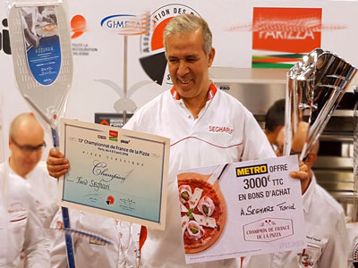 En vidéo : Le prix de la meilleur pizzaïolo de France 2018 remporté par un tunisien