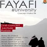 'FAYAFI university': Ciné-concert en Marge du FSM, 27 mars, Maison de la Culture Ibn Rachiq