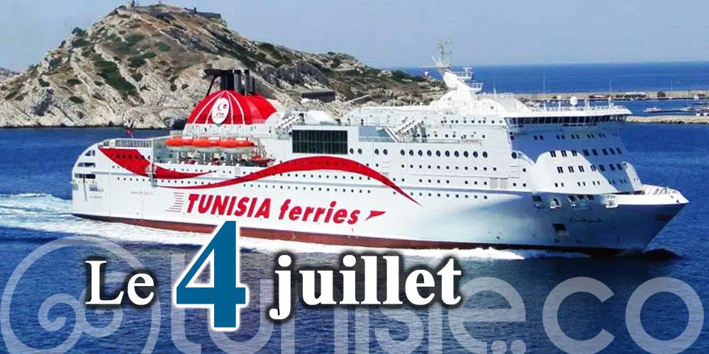 Bientôt, la première traversée du Ferry Carthage de Marseille à Zarzis
