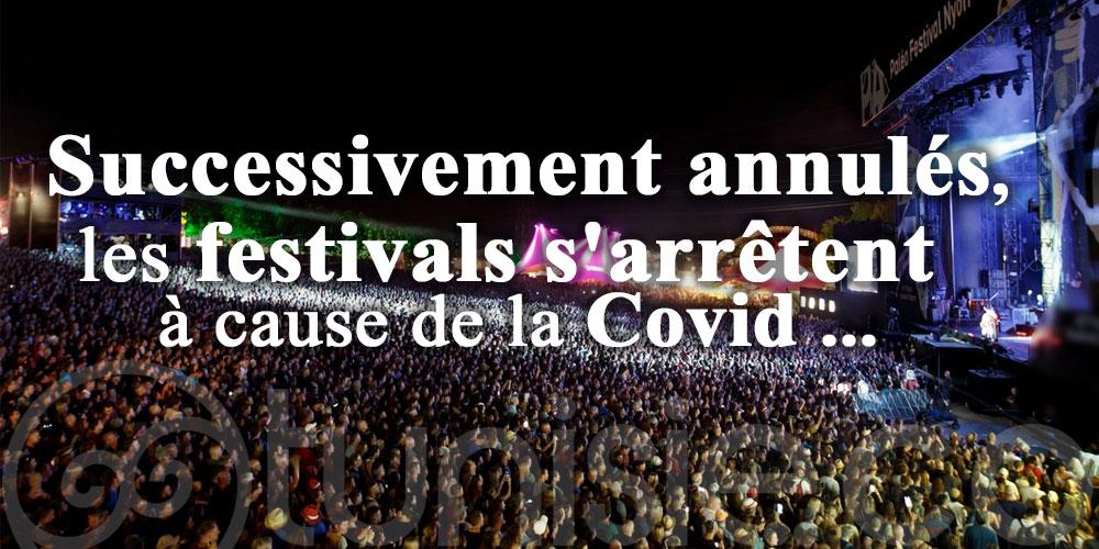 Successivement annulés, les festivals s'arrêtent à cause de la Covid