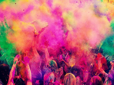 Dimanche 2 juillet, participez au festival de couleurs d'Hammam El Ghzez