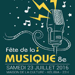 8ème édition de la Fête de la Musique le 23 Juillet à Kélibia