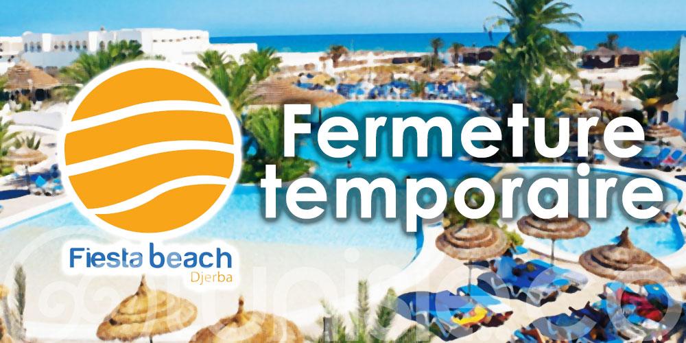 Fiesta Beach Djerba ferme temporairement ses portes !