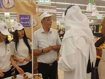 En photos : 'Karmous' Djerba dégusté à Doha