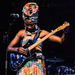 Fatoumata Diawara exprime son rêve d'une nouvelle Afrique à Hammamet