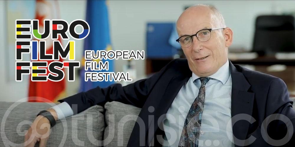 En vidéo : Le nouvel ambassadeur de l'UE Marcus Cornaro lance le Festival du film européen 2020