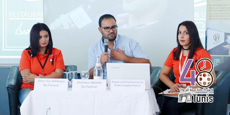 En vidéo: Akram Ben Moncer DG du festival 48H parle du concours du court métrage