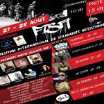 1ère édition du Festival International de Solidarité Artistique les 27 et 28 Août à Djerba