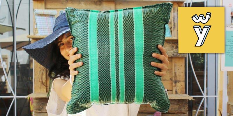 La collection Marché Central de FlaÃ¿ou donne nouvelle vie aux sacs en plastique tissé