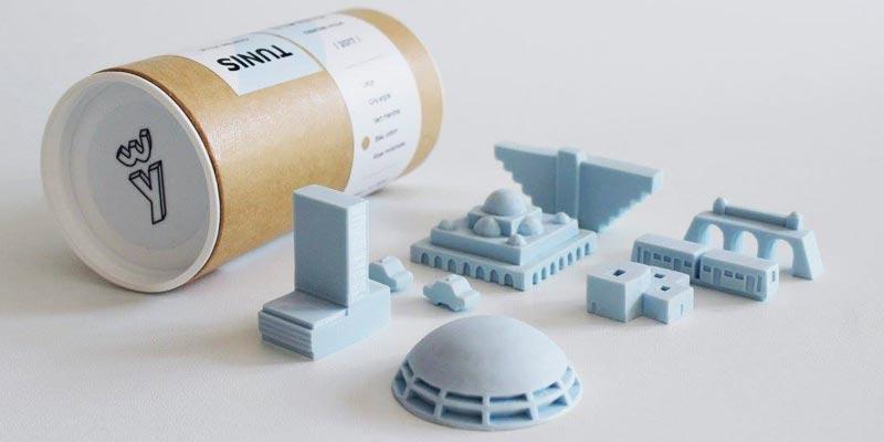 Découvrez les miniatures du centre-ville dans Tunis de poche