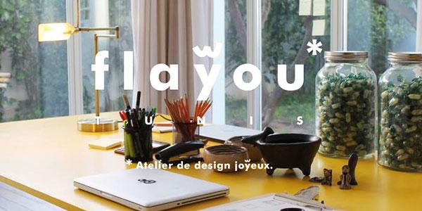 Découvrez Flayou, l´atelier explorateur et agence de design joyeuse aux idées non conformistes