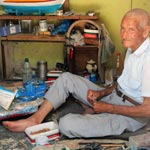 Haj Hssine le fabricant des barques à Kerkenah