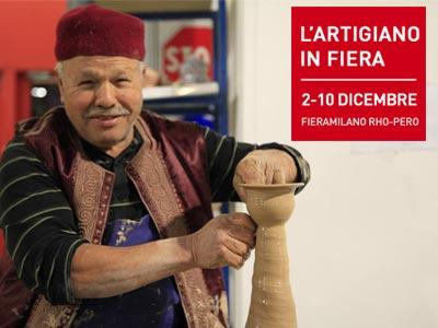 L'artisanat tunisien à la foire internationale l'Artigiano in Fiera à Milano