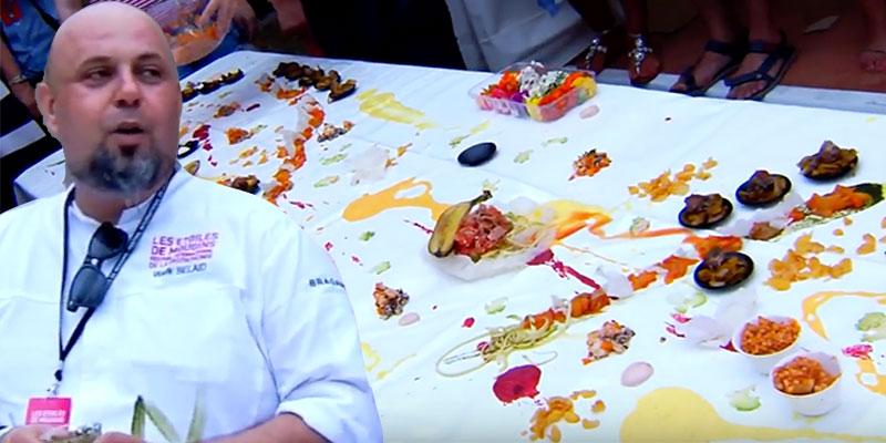 En vidéos : L'incroyable Foodpainting de cuisine Tunisienne et Française