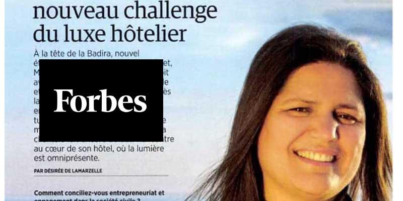 L'hôtelière Mouna Ben Halima sous les projecteurs de Femmes @ Forbes