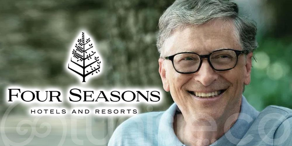 Bill Gates prend le contrôle des hôtels Four Seasons
