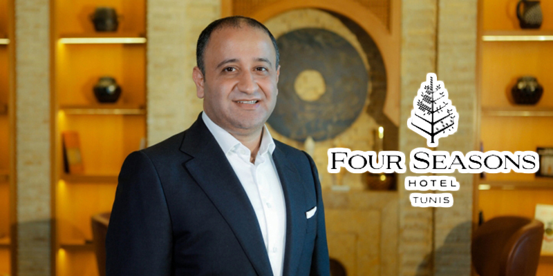 Hamza Sehili, nommé 'Hotel Manager' du Four Seasons Hotel Tunis