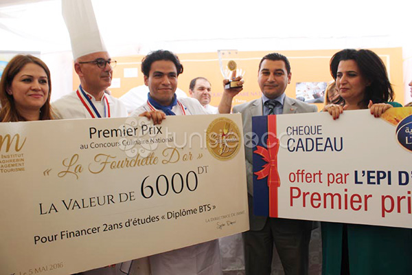 En photos : Remise des prix de la 1ère édition du concours La Fourchette d´Or