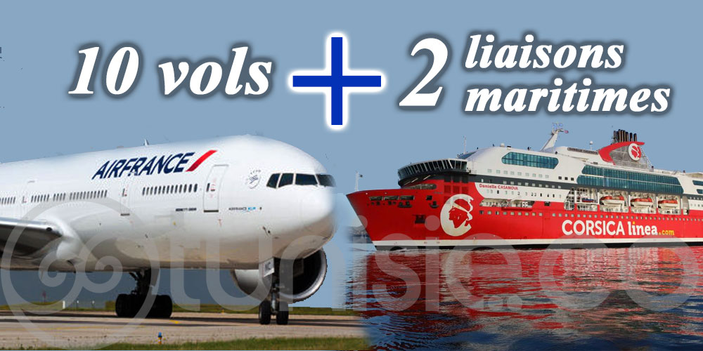 Appui au retour en France - Calendrier des prochains vols et bateaux :
