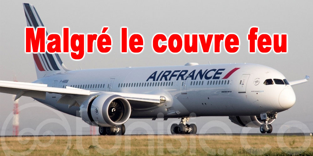 Air France maintient son programme de vols