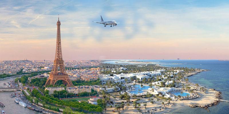 Les Vols programmés Djerba - France pour aujourd'hui