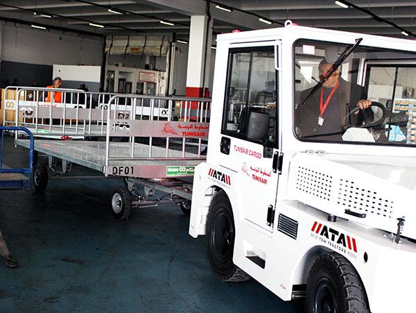 En photos : De nouveaux équipements pour le Frêt de Tunisair
