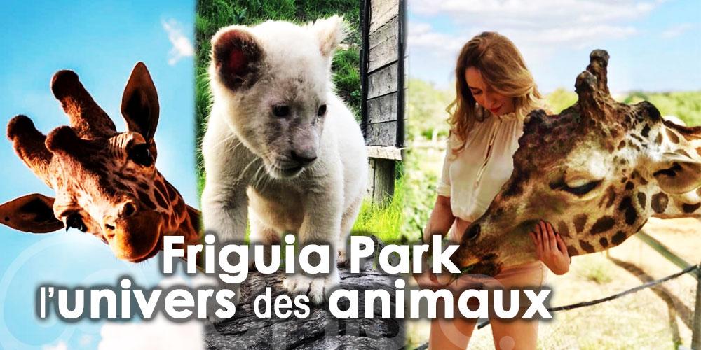 Accordez-vous un moment de détente au Friguia Park l'univers des animaux