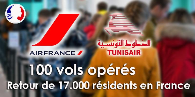 Décollage du 100ème vol de rapatriement vers la France